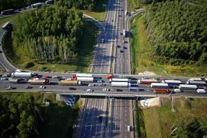 На присоединенных к Москве территориях планируется организовать платные дороги