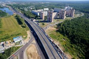 Две современные развязки открыты на Дмитровском шоссе