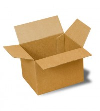 картонная четырехклапанная коробка