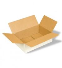 упаковочная коробка из беленого картона