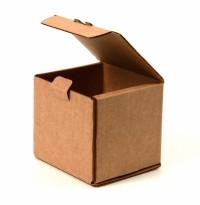 самосборная картонная коробка с откидной крышкой