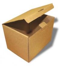 небольшая самосборная коробка из гофрокартона