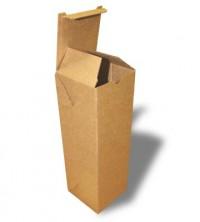 высокая самосборная коробка из гофрокартона