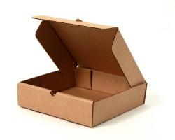 плоская самосборная коробка