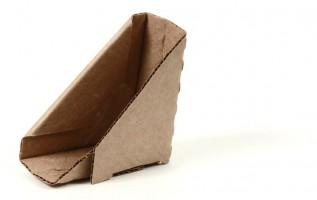 защитный картонный уголок для плоских предметов