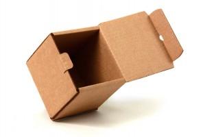 коробка самосборная с откидной крышкой