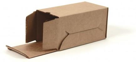 упаковочная коробка из гофрокартона, самосборная