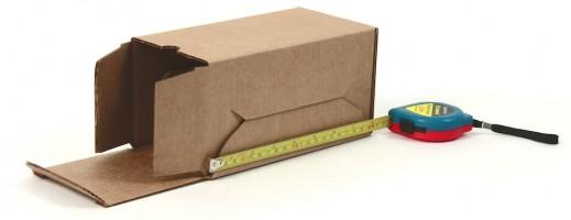 картонная самосборная коробка