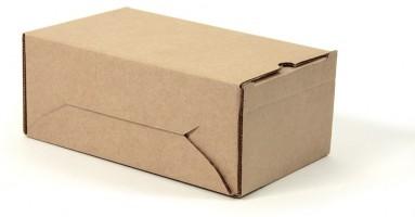 упаковочная самосборная коробка из гофрокартона