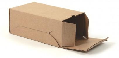 самосборная упаковочная коробка с откидной крышкой