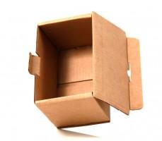 упаковочная коробка из гофрокартона с откидной крышкой