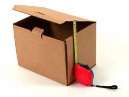 самосборная картонная упаковочная коробка