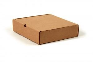 самосборная картонная коробка плоской формы