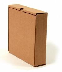 упаковочная самосборная коробка плоской формы